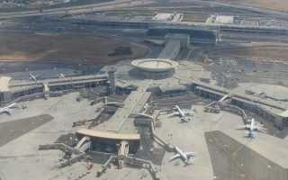 В каких городах аэропорты в Израиле: список и расположение на карте