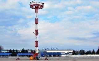 Как добраться от аэропорта Анапы до Анапы