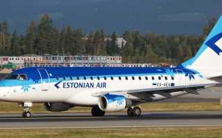 Эстонская авиакомпания «Estonian Air» для бюджетных и комфортных перелетов