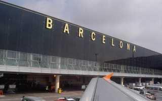 Сколько лететь из Санкт-Петербурга до Барселоны