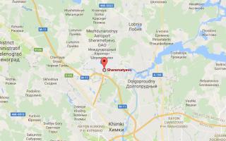 Схема аэропорта Шереметьево: все терминалы на карте