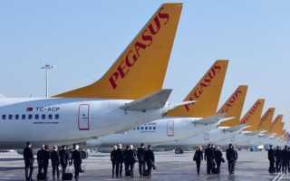 Один из крупнейших европейских лоукостеров — турецкая авиакомпания Pegasus Airlines