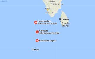 Международные аэропорты Мальдив