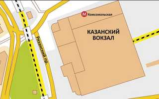 Как добраться от Казанского вокзала до Внуково