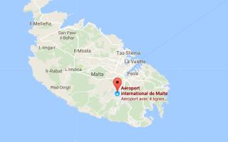 Международные аэропорты Мальты