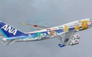 Японская авиакомпания «All Nippon Airways» (ANA)